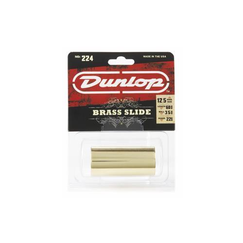 Slide Guitar Jim Dunlop 224 Solid Brass Heavy Wall