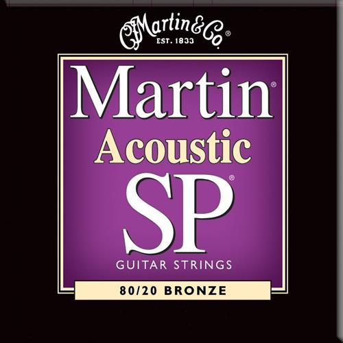 Martin Guitar MSP3050 SP 80/20 Bronze Custom Guitar Strings - Light