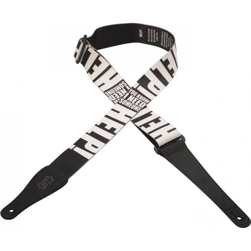 Levy's MPL2-012 HELP Guitar Strap