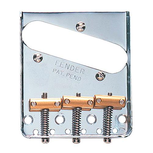 Fender 3-Saddle American Vintage Telecaster Bridge Assembly - Chrome