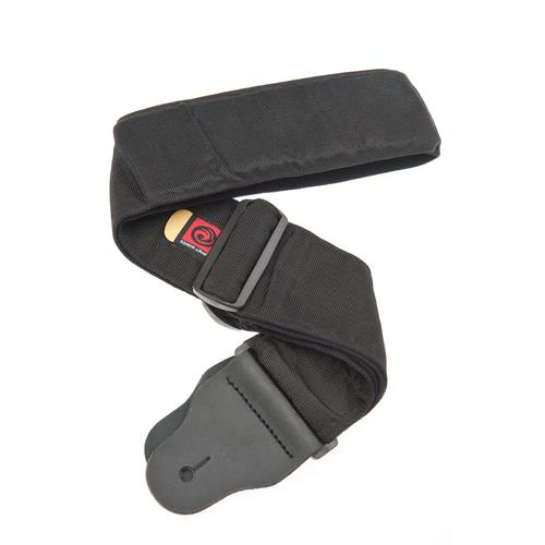 "Planet Waves 74T000 3"" Wide Bass Guitar Strap with Internal Pad - Black"
