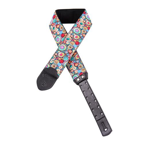 Right On! Funky Guitar Strap - Bubbles Special