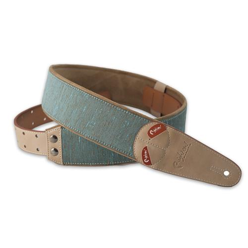 Right On! Mojo Guitar Strap - Boxeo Teal
