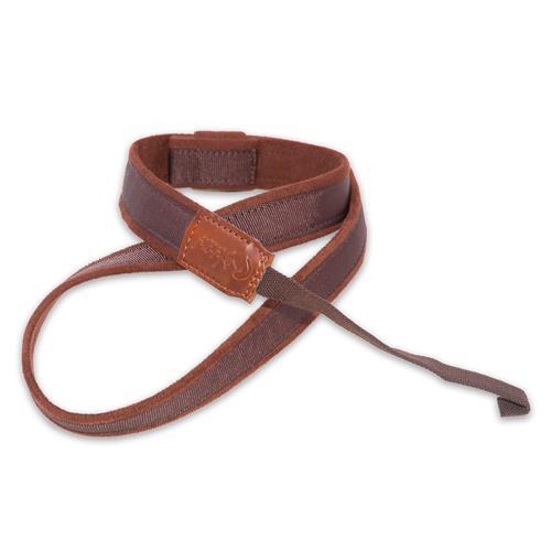 Right On! Uke-Mandoline Uke-Hook Strap - Brown