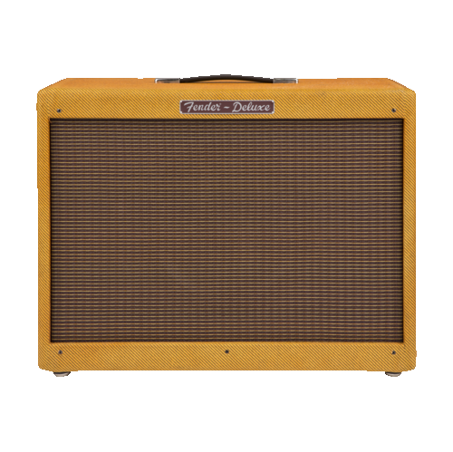 Fender Hot Rod Deluxe 112 Enclosure Guitar Amplifier - Lacqured Tweed