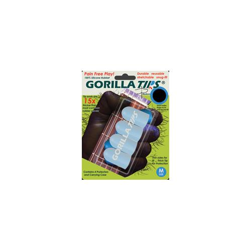 Gorilla Tips GT102CLR Fingertip Protectors - Medium