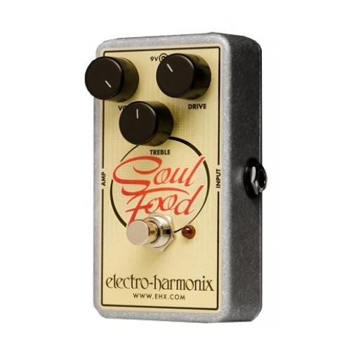 Electro-Harmonix Soul Food Transparent Overdrive Effect Pedal