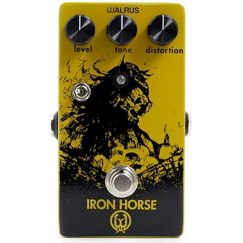 Walrus Audio Iron Horse LM308 Distortion Effect Pedal
