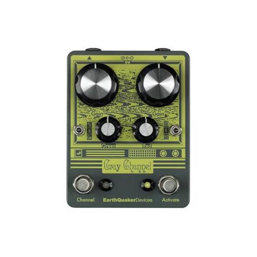 Earthquaker Gray Channel Effect Pedal