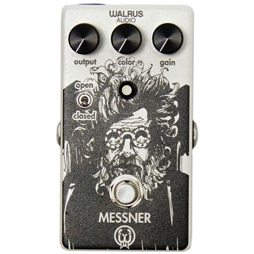 Walrus Audio Messner Transparent Light-Gain Overdrive Effect Pedal
