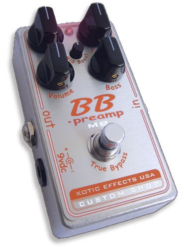 Xotic BBP-MB BB Preamp BB Effect Pedal