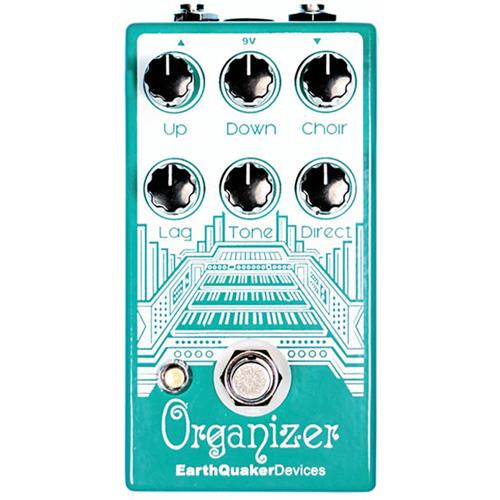 Earthquaker Organizer Effect Pedal