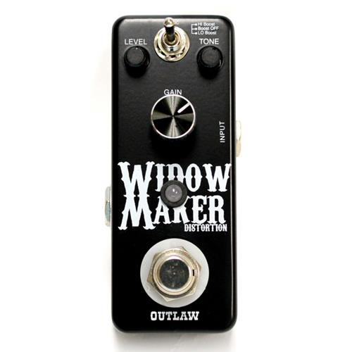 Outlaw Effects Widow Maker Metal Distortion Effect Pedal