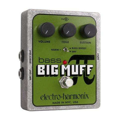 Electro-Harmonix Bass Big Muff Pi Distortion/Sustainer