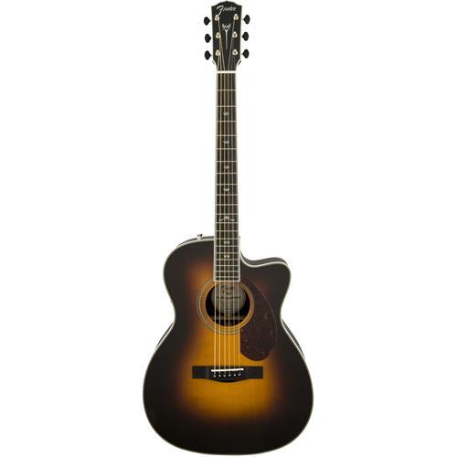 Fender PM-3 Deluxe Triple 0 - Vintage Sunburst, Ebony Fingerboard