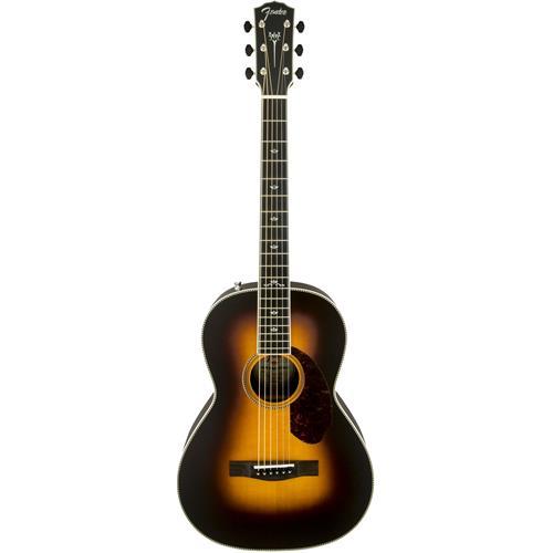 Fender PM-2 Deluxe Parlor - Vintage Sunburst, Ebony Fingerboard