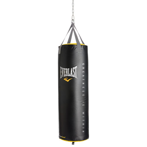 Everlast NevaTear 100 lb. Filled Heavy Bag - Black   Boxing ... 95c238c46