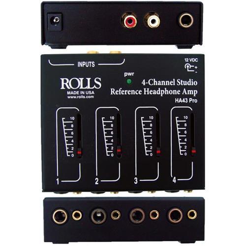 Headphone Amp Rolls HA43-PRO