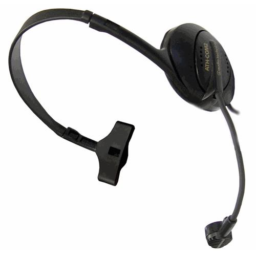 Audio-Technica ATH-COM2 Stereophone/Dynamic Boom Microphone Combination Headset