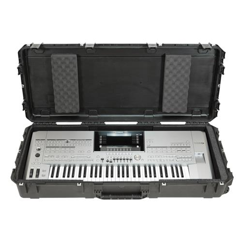 SKB 3i-4719-KBD iSeries Watertight 61 Note Keyboard Case with Wheels