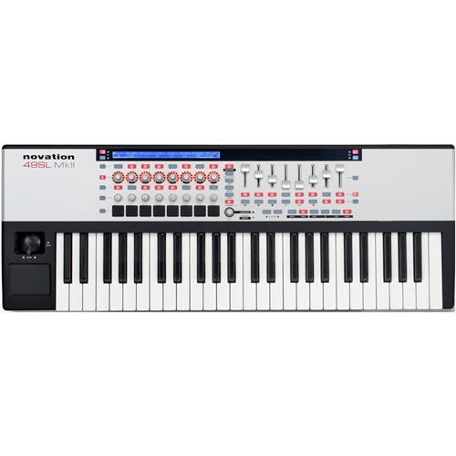 Novation 61 SL MkII 61-Key USB MIDI Controller