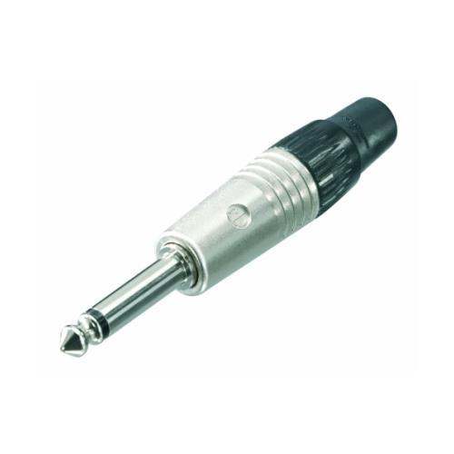 "Neutrik NP2C-SP Professional 1/4"" Plug - 2-Pole Male, Nickel"
