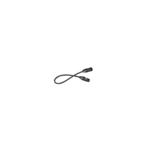Cable Digiflex 50' XLRM-XLRF 4 Conductor Black Canare
