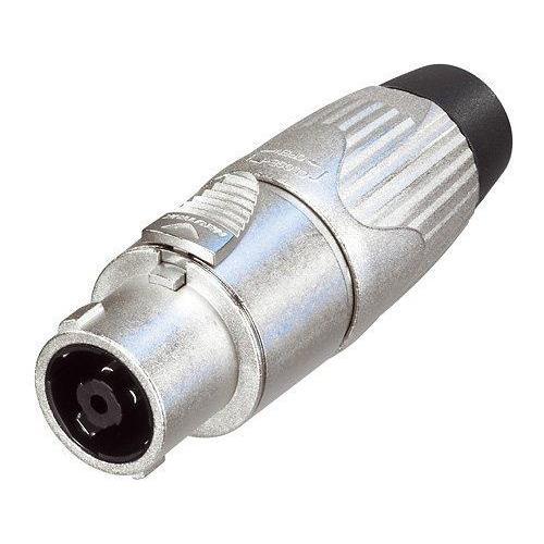 Neutrik NLT8FX speakON Cable Connector - 8-Pole Female, Nickel, Solder