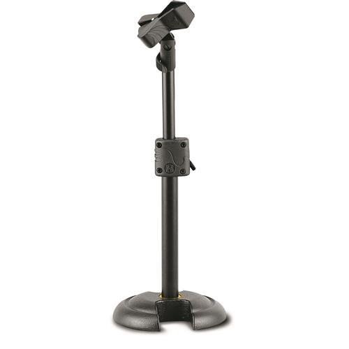 """Hercules """"H"""" Base Microphone Stand with EZ Mic Clip"""