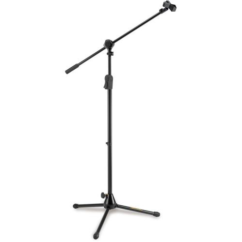 Hercules EZ Clutch Tripod Microphone Stand with 2-In-1 Boom and EZ Mic Clip
