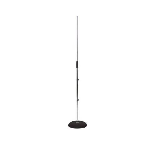 RockStand Microphone Stand with Cast-Iron Base - Nickel
