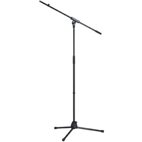 K&M 277 Microphone Stand with Boom - Black