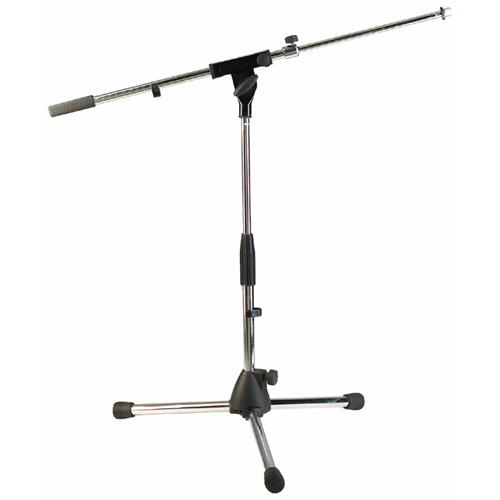 "Stand Mic RockStand 50-70cm/19.7-27.5"" w/Telescoping Boom-Ni"
