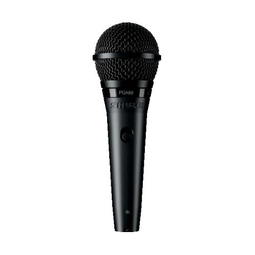 Shure PGA58-LC Cardioid Dynamic Vocal Microphone