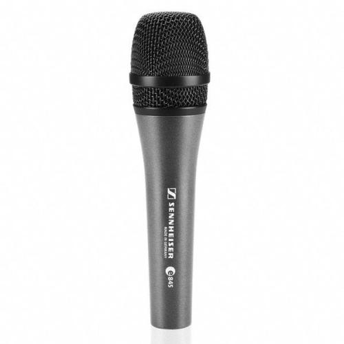 Sennheiser e845-S Vocal Microphone - Dynamic Super Cardioid