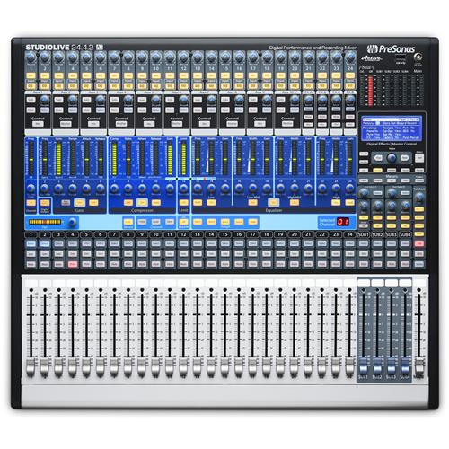 PreSonus StudioLive 24.4.2AI Digital Mixer with Active Integration