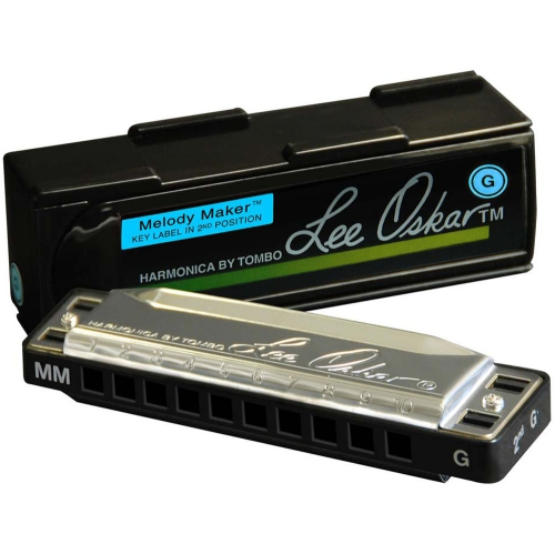 "Harmonica Lee Oskar Melody Maker ""A"" (10 H)"