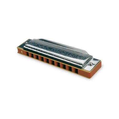Suzuki 1072-G Folkmaster Standard 10 Hole Diatonic Harmonica