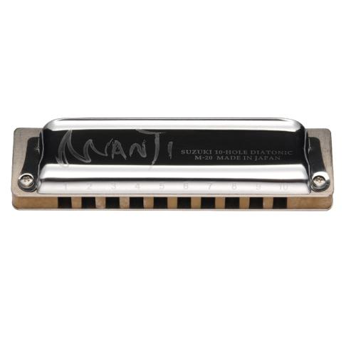 Suzuki Manji 10-Hole Diatonic Harmonica - C