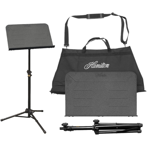 Hamilton KB90 Music Stand with KB14 Carrying Bag