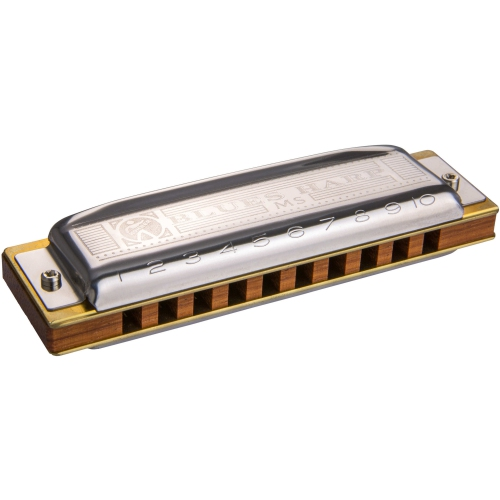 "Harmonica Hohner Blues Harp, Diatonic ""Bb"" (10 Hole, 20 Rd)"