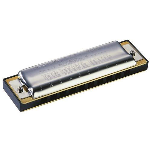 Hohner Big River Diatonic Harmonica - Key Bb