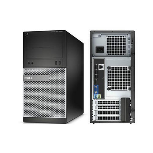 DELL Optiplex 790MT, Intel i7-3.4GHZ, 12GB Memory, 80GB SSD Drive +1TB SATA Drive, DVDRW, Win 10 Pro, 1YW, Refurbished
