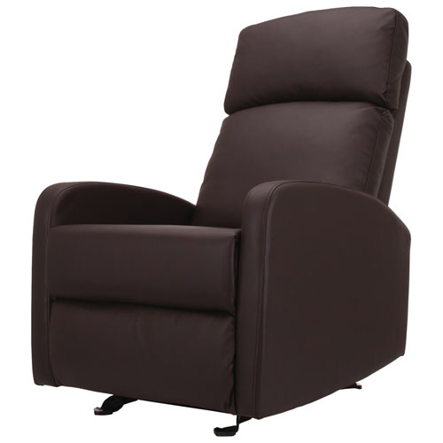 9f0a39642afb Kidiway Santa Maria Bonded Leather Glider - Java   Glider Chairs ...
