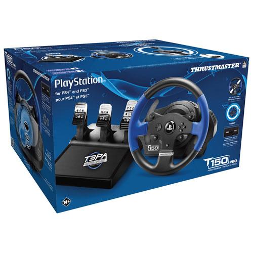 Volant de course T150 Pro de Thrustmaster pour PS4/PS3