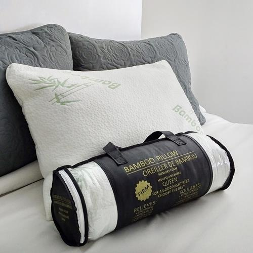 bamboo pillowq memory foam pillow q