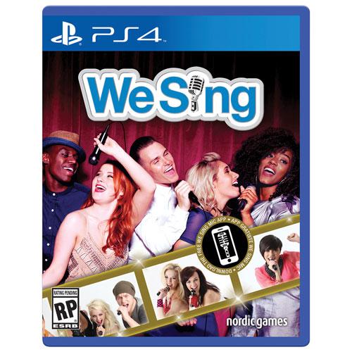 We Sing (PS4) - Anglais