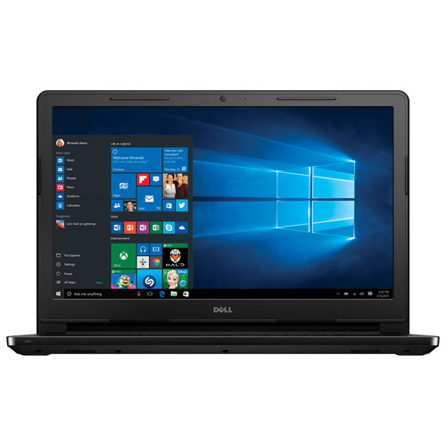 "Dell i3552 15.6"" Laptop (Intel Pentium Processor N3710/1TB HDD/8GB DDR3 RAM/Windows 10)"