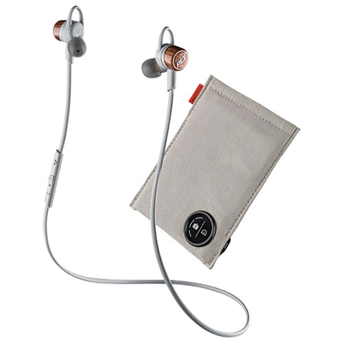 Plantronics Backbeat Go 3 Sound Isolating In-Ear Headphones with Charging Case - Copper Orange