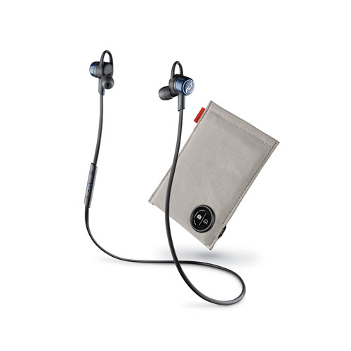 Plantronics Backbeat Go 3 Wireless Bluetooth In-Ear Headphones with Charging Case - Cobalt Blue